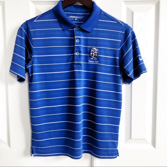 Nike Other - Nike Golf Dri Fit Polo Collar Short Sleeve Shirt M